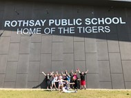 Rothsay school sign